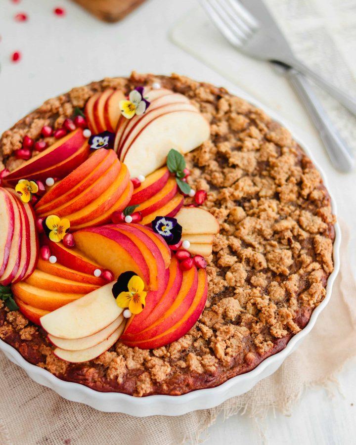 Vegan Baked Oatmeal Recipe
