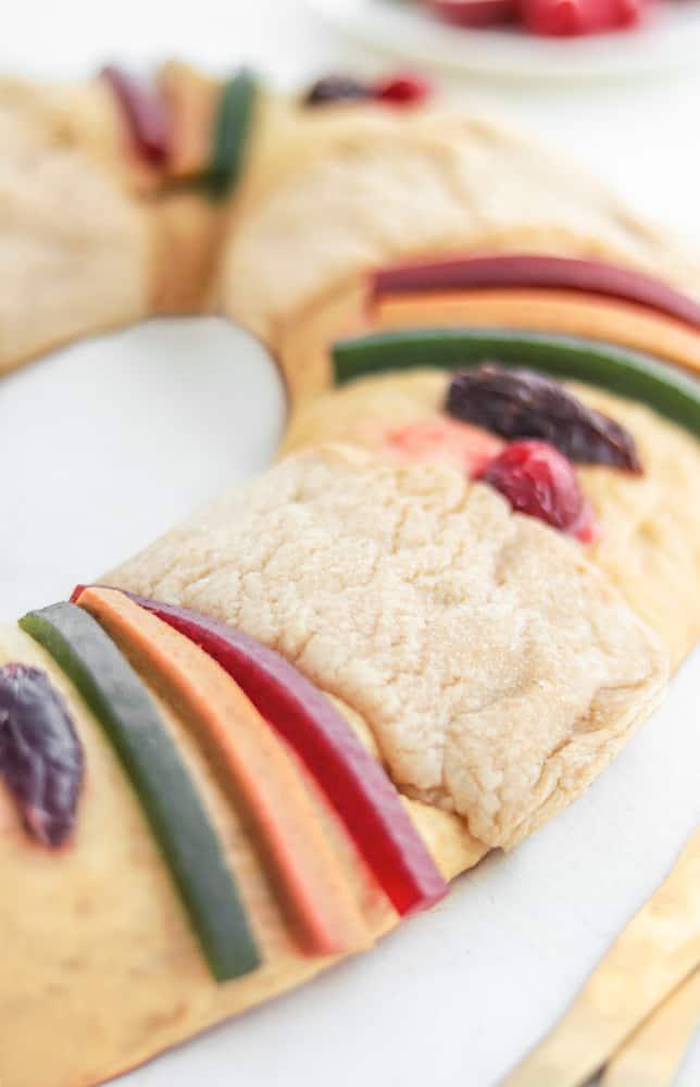 Rosca de Reyes Vegana