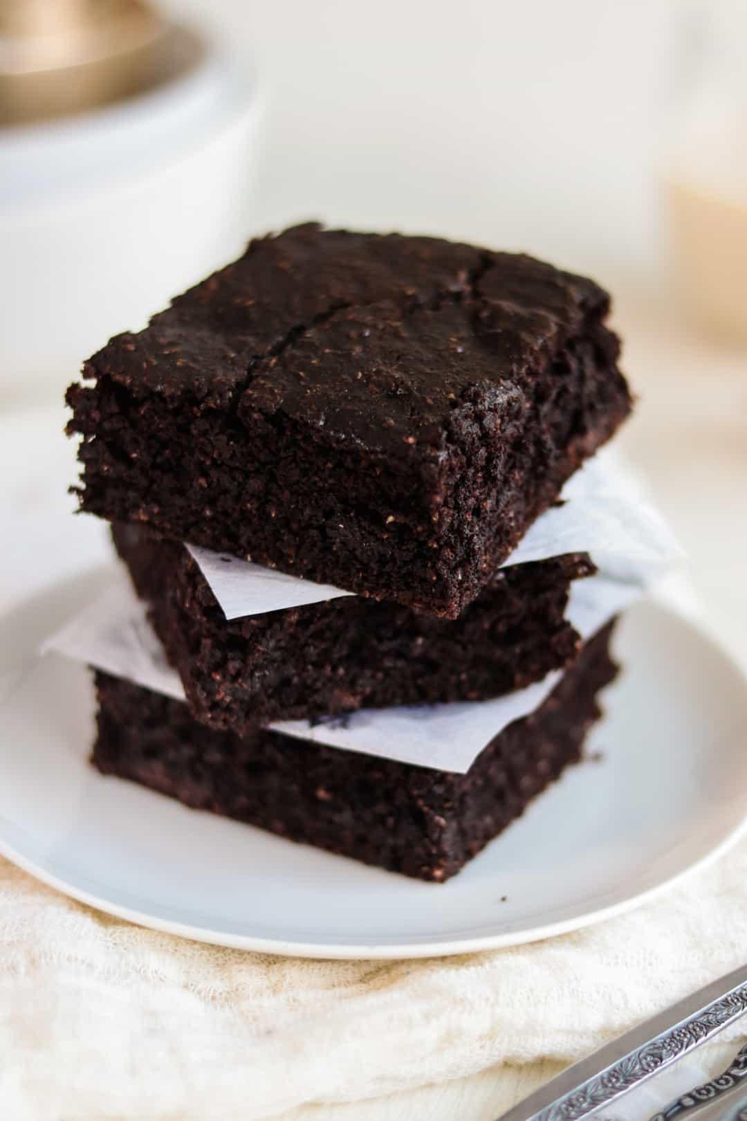 Brownies Veganos Saludables