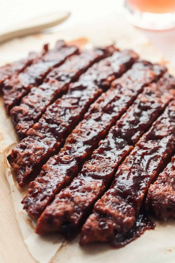 Costillas Veganas a la BBQ (de Seitán)