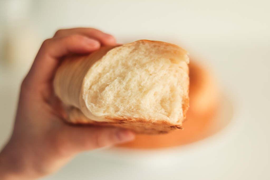 Vegan Wool Roll Bread