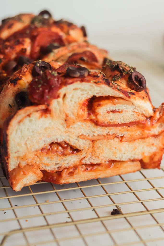 Pan de Pizza Vegano Súper Esponjoso