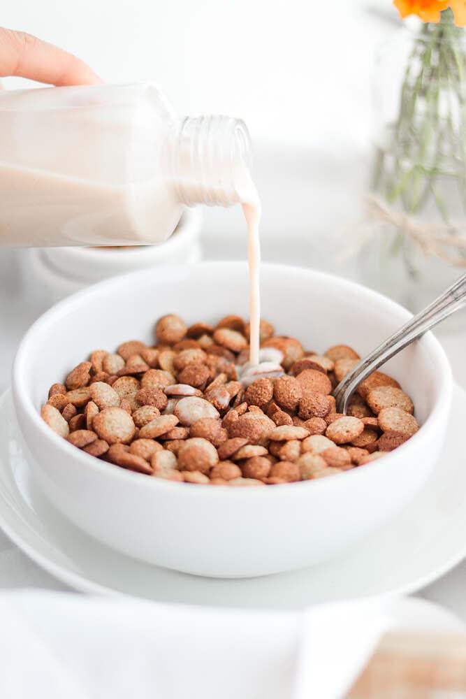 Homemade Oat Cereal (Vegan)