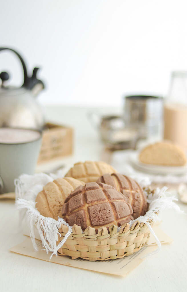 The Best Vegan Mexican Conchas