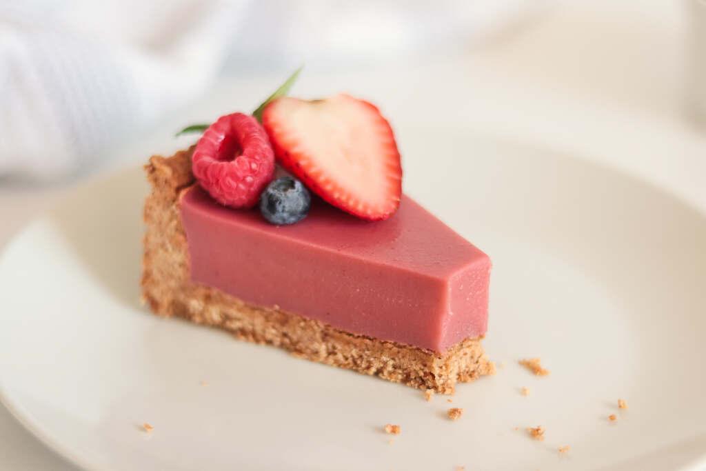 Vegan Strawberry Tart