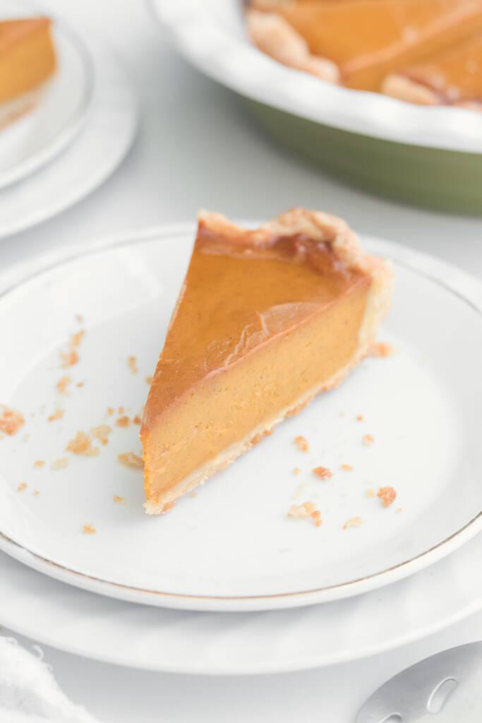 Perfect Vegan Pumpkin Pie